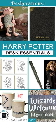 If you have to spend five days a week in a cubicle or office, you deserve to decorate it with items from your favorite magical world. If you love Harry Potter and you always will, then you definitely need to to jump on these items so your desk is always a welcoming and happy place.