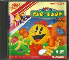 Pac-Land for the PC Engine #PCEngine #PCE #NEC #PC #Engine #PacLand #Pac #Land #Pacman #Retro #Gaming