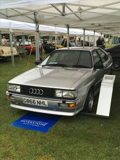 Yep, that's what a £64k Quattro looks like