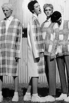 The plaid gang | I-D F/W 13.Stella McCartney
