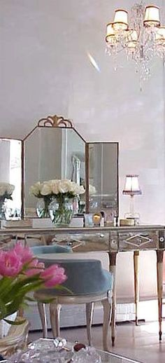 Pretty Dressing Table in Paris.