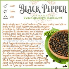 The fruit of the Black Pepper are called peppercorns. Black, Green, and White peppercorns all come from the same plant, but are harvested and prepared differently, resulting in different colors and flavors. // #herbalmagick #kitchenwitch #pepper #protection #cleansing #magic #negativity #clarity #stimulation #invigoration Rustic Kitchen Design, Kitchen Cabinet Design, Rustic Design, Herbal Magic, Magic Herbs, Dark Grey Kitchen Cabinets, Vintage Kitchen Accessories, Kitchen Models, Kitchen Colors