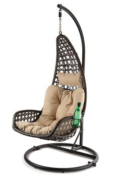 abate outdoor patio swing chair with stand eei 2276 outdoor