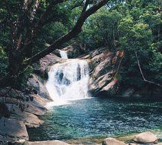 Behana Gorge swimming hole near Cairns, Australia. Photo: JordanWalkerr