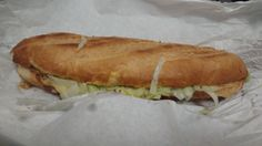 A sub from my local Pizza place. Might not look that appealing but its better than Subway!