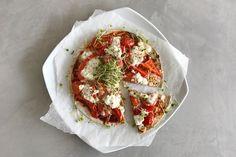Deze snelle en gezonde pizza is zo'n uitvinding! Pizza eten zonder schuldgevoel, maar wel met de voldoening van een goede pizza. Wij zijn fan!