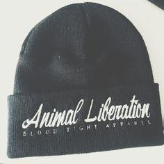 Animal liberation Beanie100% soft feel acrylic