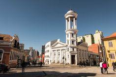 Largo da Ordem (Igreja Presbiteriana) - Curitiba - Paraná - Brasil