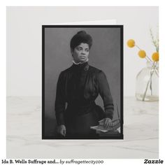 Shop Ida B. Wells Suffrage and Civil Rights Leader Card created by Personalize it with photos & text or purchase as is! Civil Rights Lawyer, Civil Rights Leaders, Ida B Wells, Ancient Aliens, Custom Greeting Cards, Thoughtful Gifts, Civilization, Smudging, Paper Texture