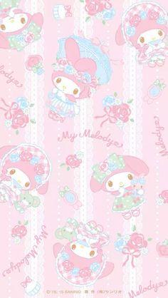 マイメロディ10 iPhone壁紙 Wallpaper Backgrounds iPhone6/6S and Plus  My Melody iPhone Wallpaper
