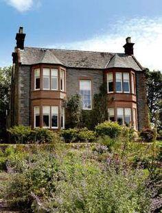 scottish victorian home outside