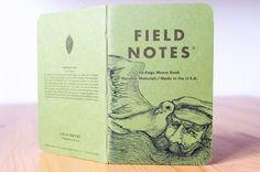 DIN A6 - Shenandoah #122 Field Notes - ein Designerstück von pixelgraphix bei DaWanda