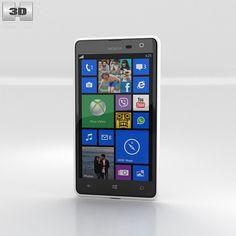 3D Nokia Lumia 625 Model - 3D Model
