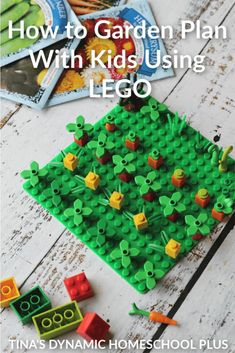 How to Easily Garden Plan With Kids Using LEGO. How to garden plan with kids using LEGO is a way to sneak in some learning. Your kids will love this! Lego Activities, Spring Activities, Stem Projects, Lego Projects, Dubai Miracle Garden, Fine Motor Skills Development, Lego Challenge, Vegetable Garden Planning, Meteor Garden 2018