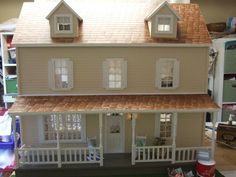Dollhouse The Waltons by allgoodkeepsakes on Etsy, love it!!