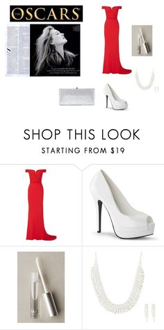 """""""Untitled #372"""" by savanna-626 ❤ liked on Polyvore featuring Vanity Fair, Alexander McQueen, FACE Stockholm, claire's and Jimmy Choo"""