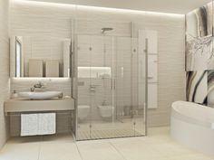 Badezimmer sand ~ Komplette badewanne im badezimmer mit mosaik ähnlich leo sand