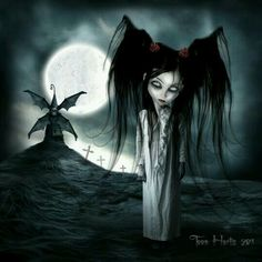 ~ † Under The Moon ~By Toon Hertz ~