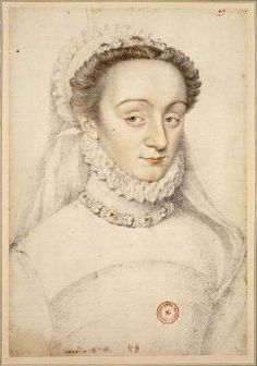 The scandalously known Charlotte de Beaune Semblançay, Viscountess of Tours, Baroness de Sauve, Marquise de Noirmoutier, a member of Catherine Medici's 'flying squadron', mistress of Henry of Navarre, Francois of Alencon, Henry de Guis and many others. She was a source of information against Joseph Boniface de La Môle and Annibal de Coconnas and a witness in the annulment proceedings of Marguerite of Valois and Henry IV. She got one son and died at the age of 65.