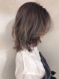 Hairstyles Haircuts, Pretty Hairstyles, Hair Inspo, Hair Inspiration, Medium Hair Styles, Curly Hair Styles, Japanese Short Hair, Hair Color Asian, Androgynous Hair
