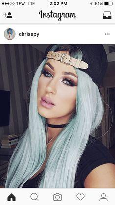Chrisspy blue hair