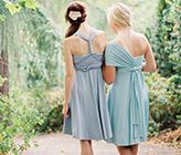 Convertible Dress From Dessy And Wedding Chicks @Lauren Fraser