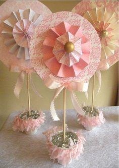 cute pink display