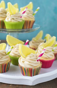 Shortcut Margarita Cupcakes with Cream Cheese Lime Frosting  -  BoulderLocavore.com