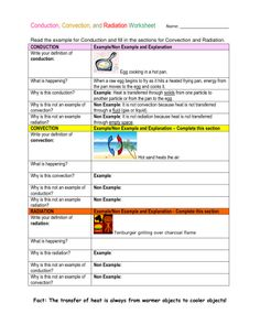 conduction convection radiation worksheet | Quiz - Conduction_ ...