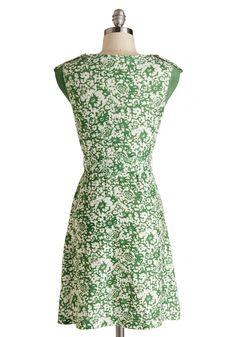 Earthen Errands Dress. #green #modcloth