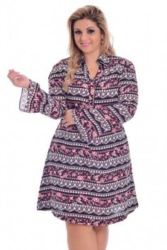 Vestido Yasmim Plus Size