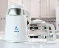 Amazon.com: Water Distiller, Countertop, White Enamel, Glass Collection: Kitchen & Dining