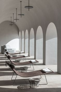 Discover the Euphoria Retreat wellbeing destination spa through the inspiring images of our image gallery. Architecture Life, Interior Architecture, Interior Exterior, Interior Design, Piscina Interior, Places In Greece, Cafe Restaurant, Commercial Interiors, Hospitality Design