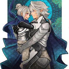 Fire Emblem: If/Fates - Kamui and Kanna