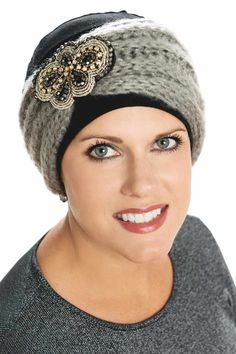 d4c59c90a17 Embellished Cozy Band - Turban and Headwear Accessory Headband -  Holiday Christmas