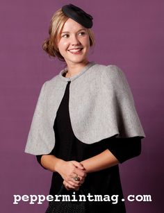 The   Vintage   Pattern   Files: 1930's Sewing - 1930's Style Cape