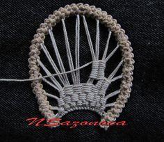 Урок 18 - Блог. Наталья Сазонова - Группы Мой Мир Needle Tatting, Tatting Lace, Needle Lace, Crochet Doily Patterns, Crochet Doilies, Crochet Lace, Freeform Crochet, Irish Crochet, Bruges Lace