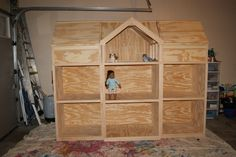 awesome American Girl doll house!