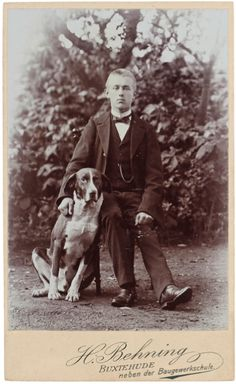 Young master trying to look cool. Love the faithful doggie lean. From the e-book Dandies &  Dogs part ll here: http://bookswithoutborders.co.uk/publication/dandies-dogs-part-ii