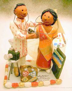 Indian Wedding Cake Toppers - http://www.talenthuntweb.com/indian-wedding-cake-toppers/