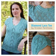 #Lace lovers--This one's for you! http://ift.tt/1Ky2IaI #knitting #springknitting