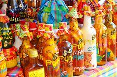 Marché de Sainte-Anne - Punchs de Guadeloupe