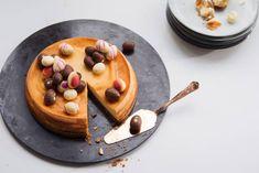 Kijk wat een lekker recept ik heb gevonden op Allerhande! NY cheesecake met paaseitjes Waffles, Pancakes, Ricotta, No Bake Cake, Sweet Recipes, Cheesecake, Biscuits, Baking, Breakfast