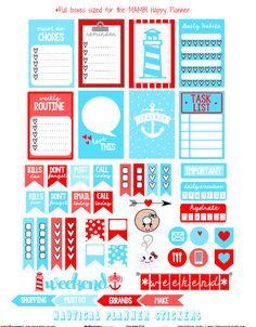 "Hello planner peeps and Happy Friday!   It's another weekend coming up soon, so I hope you are excited about the weekend and are ready for your  next ""pretty planning"" session in your Happy Planner.   Today, I am releasing  a  ""nautical "" themed planner stickers  set made specifically for  Happy Planners by Me and My Big … Continue reading Nautical Planner Stickers – Free Printable →"