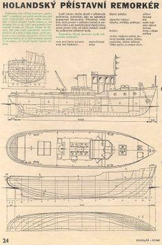 Quinze marins sur le bahut du mort...: Plan d'un Remorqueur Hollandais