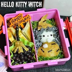posted from @kwbentodiary #hellokitty #witch #obentoart #kwbentodiary