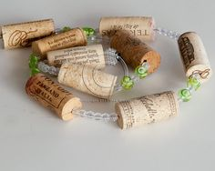 Sale Wine Cork Garland, wine decor, wine cork crafts, wedding decoration, Wine Themed Wedding, Wine Gift by MaxplanationPhotos on Etsy
