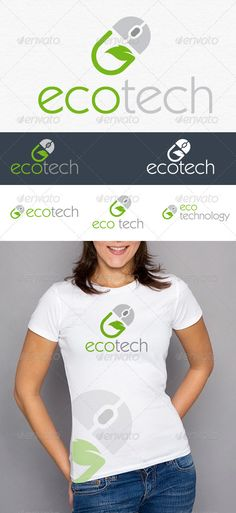 Eco Tech Logo #GraphicRiver Environmental friendly technology. Eco Friendly information technology. Green technology which will keep the world green and pollution free. its a mouse and green leaf symbolic logo. Font : Kabel Book BT download: .fontpalace /font-details/Kabel+Book+BT/ Created: 19November12 GraphicsFilesIncluded: VectorEPS #AIIllustrator Layered: No MinimumAdobeCSVersion: CS Resolution: Resizable Tags: beautiful #computer #creative #eco #environmentfriendly #gre...