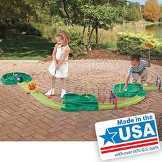 Step2 Hole in One Miniature Golf Set