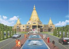 Artist's rendering of the proposed Shri Shirdi Sai Baba Temple in Groton. courtesy BD nayak Architects & Planners Inc.Sun staff photos can be ordered